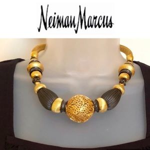 Jose & Maria Barrera Jewelry - NEIMAN MARCUS Necklace 24k GP Barrera NYC NWT